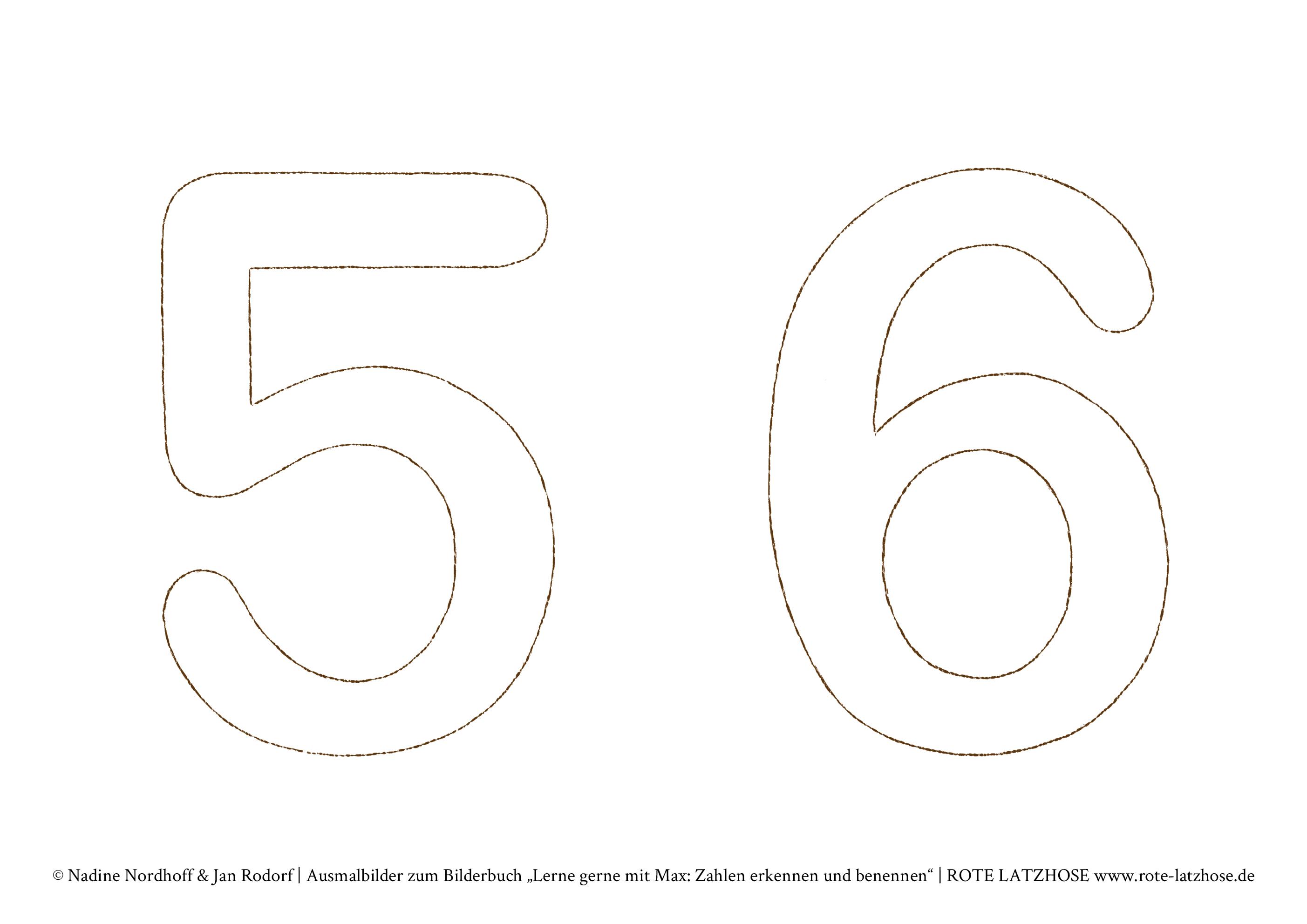 Max Malt Die Zahlen Bunt Zahlen Von 1 Bis 10 Vorlagen Zum Ausdrucken Der Zahlen 1 10 Lerne Gerne Mit Max Zahlen Erkennen Und Benennen Spiel Spass